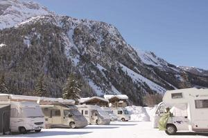 camping hiver