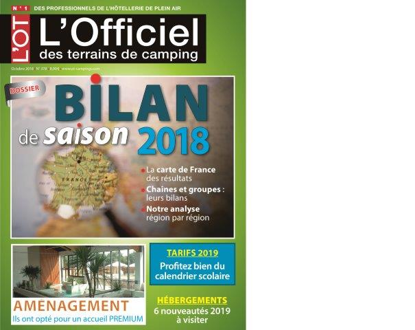 Couverture L'OT septembre 2018