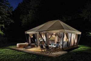 location tente luxe